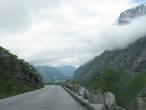 Спуск через облака на автомобиле, новые ощущения