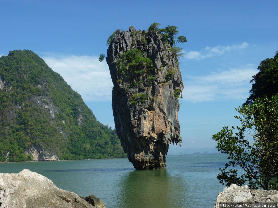 Южный Таиланд. Андаманское море. Остров Джеймса Бонда.