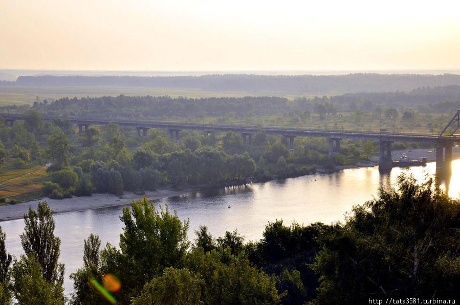 Мозырское Полесье и река Припять Мозырь, Беларусь