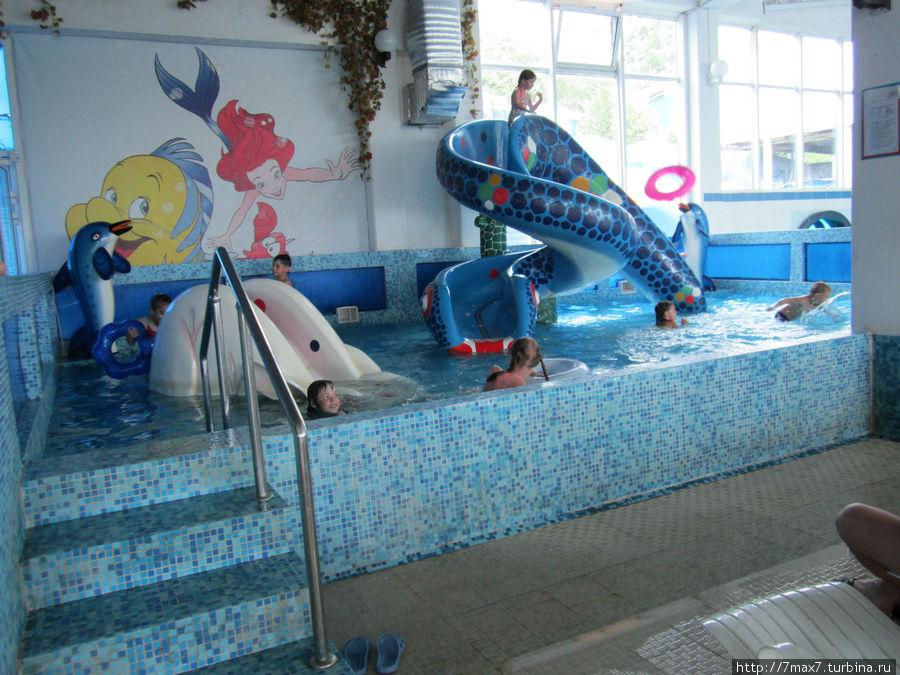 Детский бассейн.