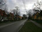 улица Ленина в городе Гурьевске