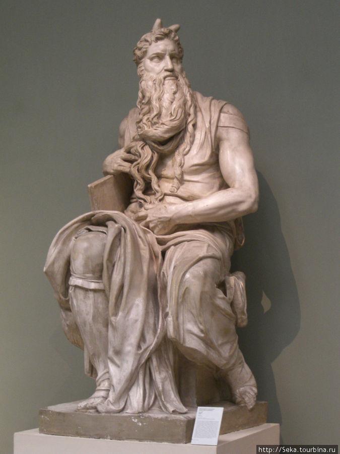 Микеланджело Буонарроти. Моисей. Слепок