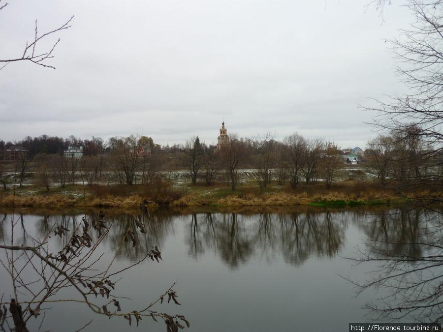 Москва-река около поселка Борки