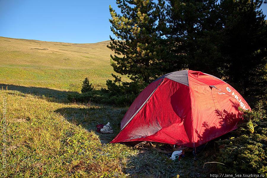 Наша позитивная палатка :) Тюнгур, Россия