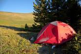 Наша позитивная палатка :)