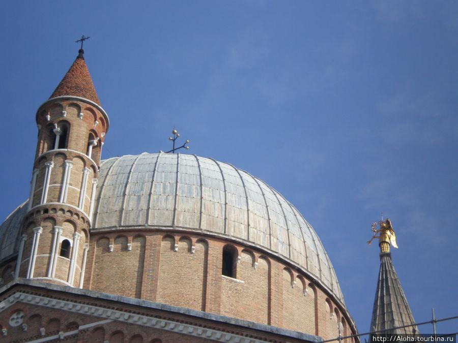 Крыши собора Св. Антония.