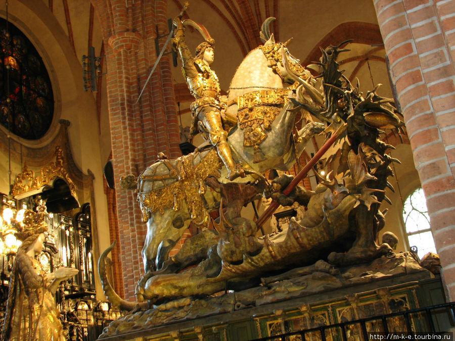 Святой Георгий со змеем
