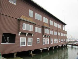 Помещение яхт-клуба