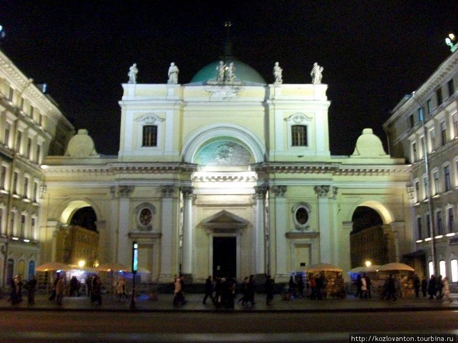 Церковь Святой Екатерины на Невском проспекте.
