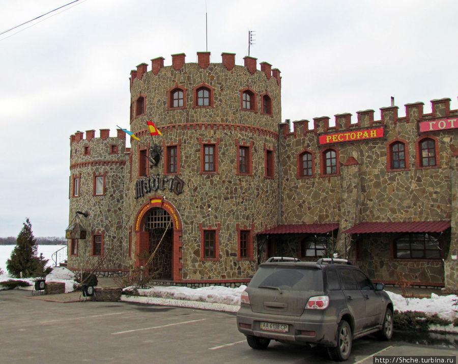 Внешнее сходство с замком