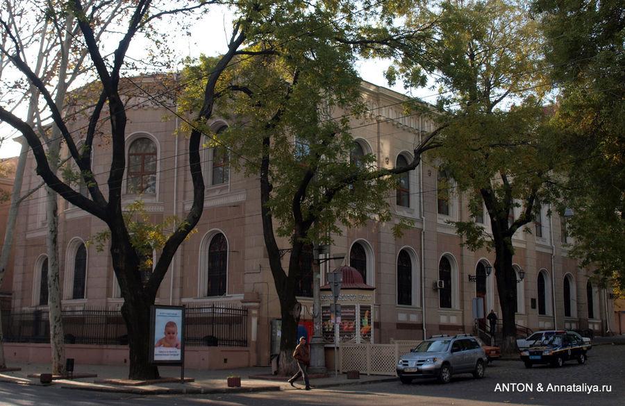 Главная Одесская синагога.