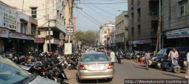 Улица продажи мотоциклов