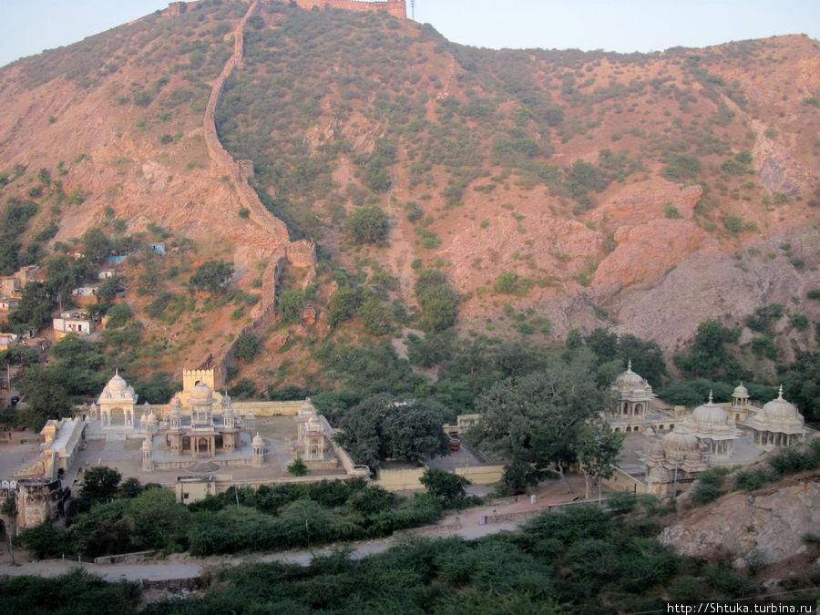 Джайпур, по дороге к храму Ганеши