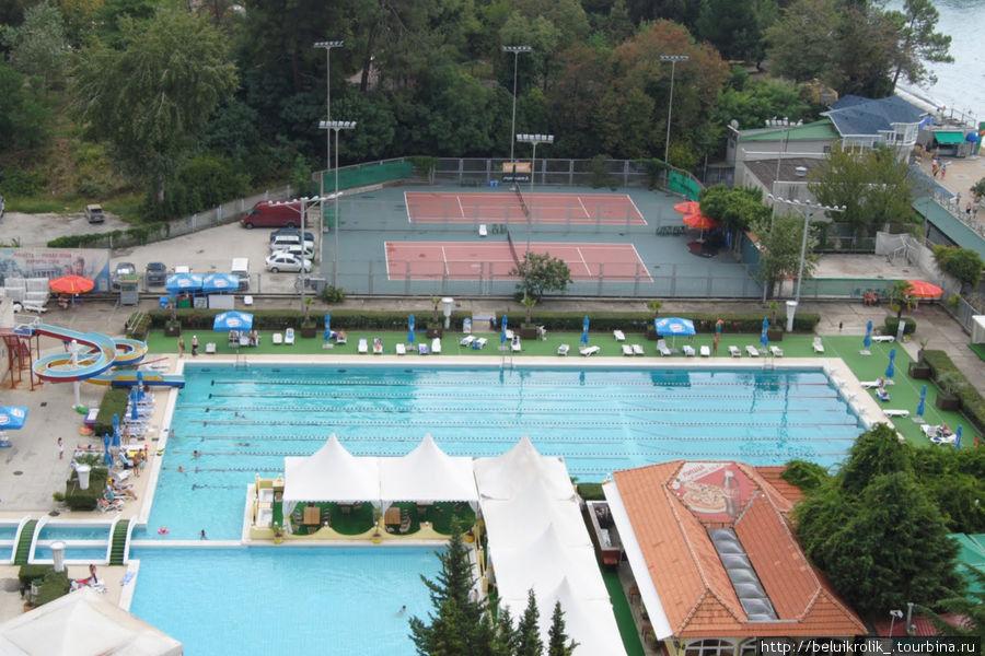 Гостиничный бассейн
