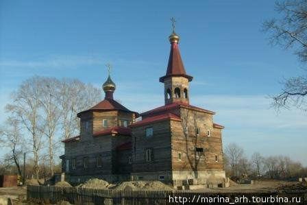 Новая строящаяся церковь