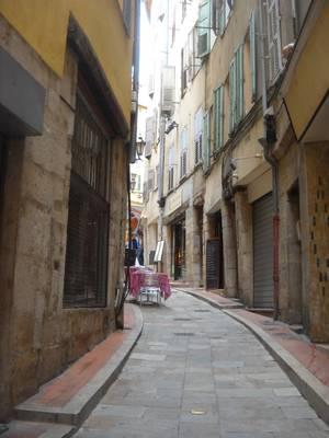 Типичная улица центра