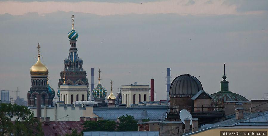 Одна белая ночь в Петербурге Санкт-Петербург, Россия