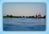 В Мозыре находится порт Пхов – крупнейший порт в Беларуси.