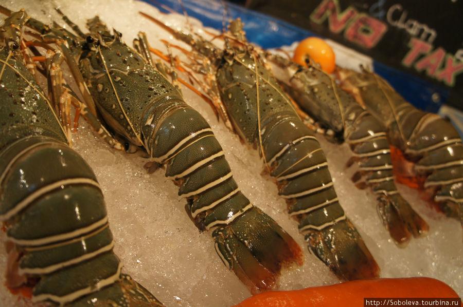 Морепродукты Таиланда