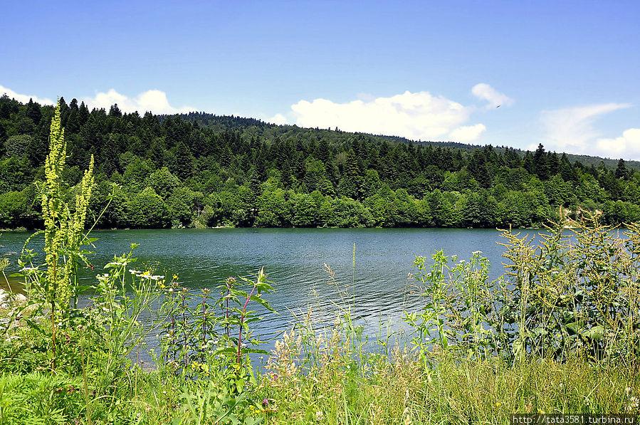 Озеро Шаори Ткибули, Грузия