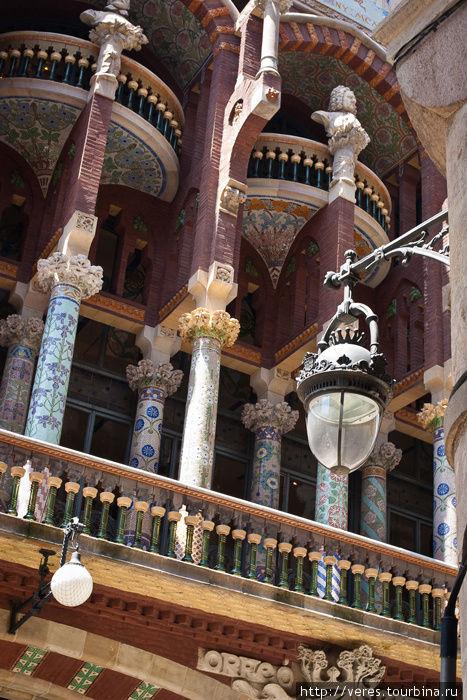 балкон Дворца Каталонской
