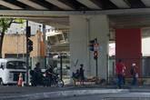 Маленькие бандиты на одном из перекрестков.
