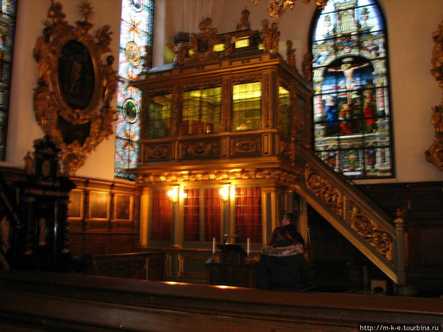 Немецкая церковь. Королевская Галерея