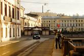 Турист (Рома) на канале Грибоедова.