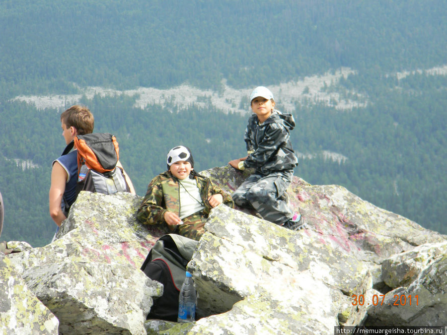 Наши покорители горных вершин