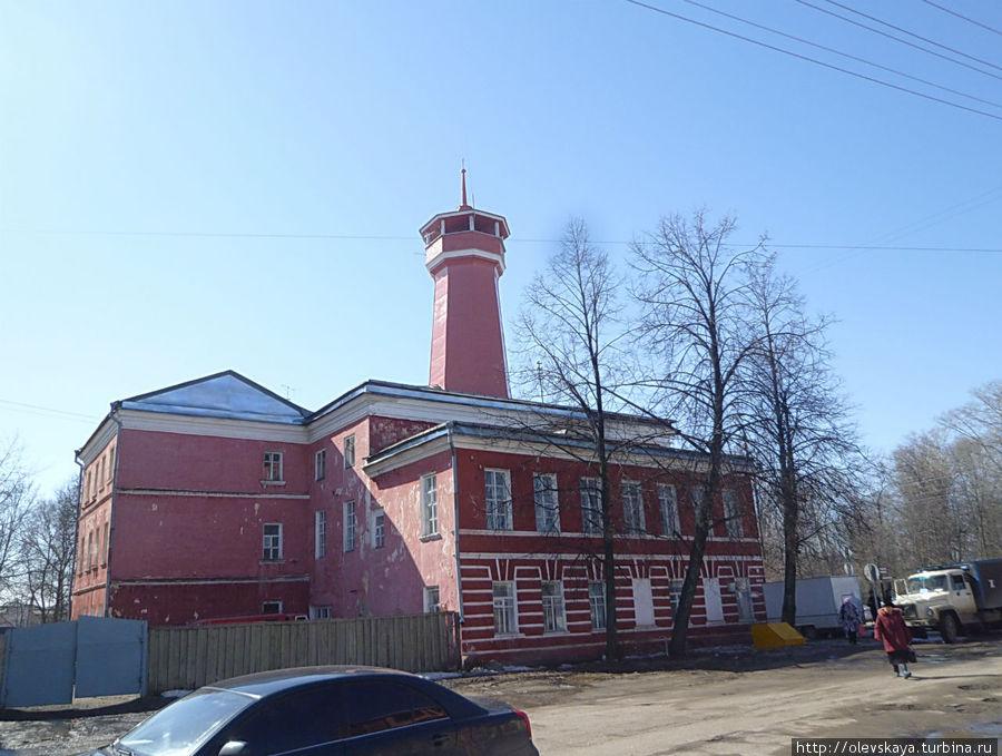 Пожарная каланча Углич, Россия