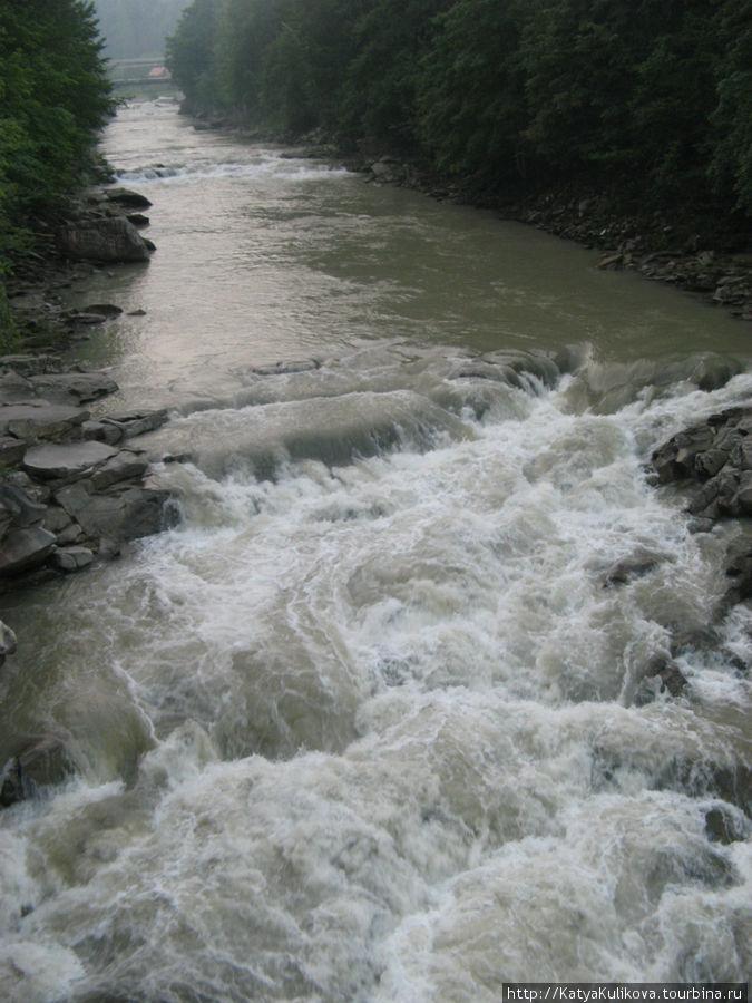 воинствующая река Прут