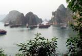 Вид на бухту с острова Bo Hon Island