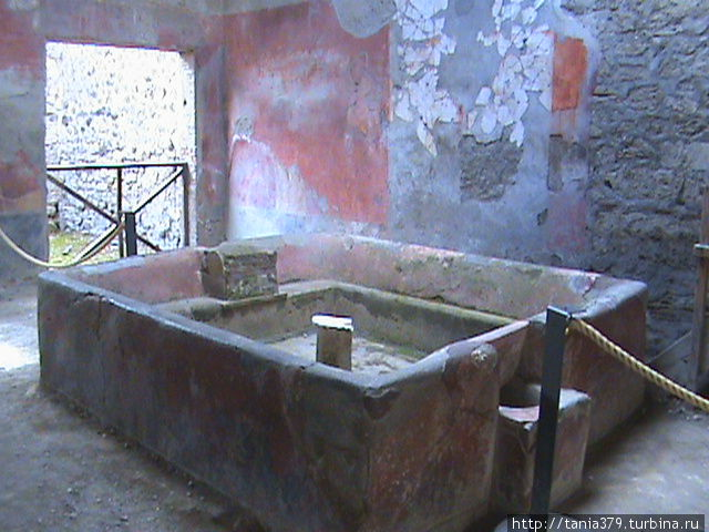 Ванна прачечной.