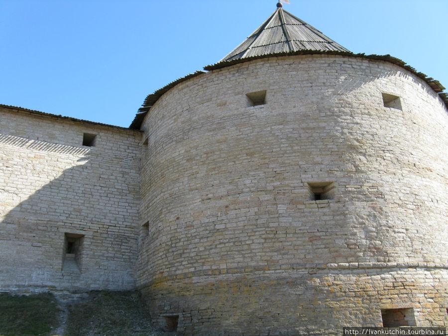 Крепость очень похожа на