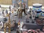 Деревянные лошадки, фирафы и прочие звери.