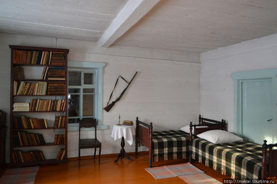 Интерьер дома Петровой. Комната, где жил В.Ленин.