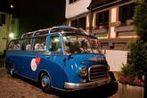 Старый автобус.