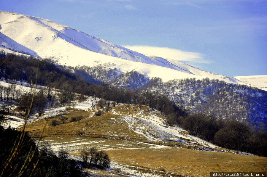 Зимние дороги Армении Армения