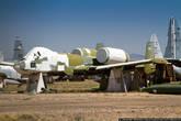 Каждый самолет, поступающий на хранение на базу Дэвис-Монтен, подвергается тщательному осмотру, с него демонтируется вооружение и секретное оборудование, а топливные системы осушают и прокачивают маслом.