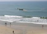 За работой рыбаков можно наблюдать прямо с пляжа