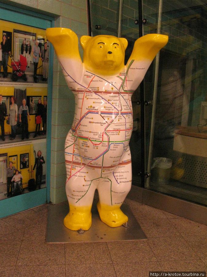 схема метро Берлин, Германия