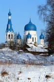 Вид на Покровский собор с Черного озера.