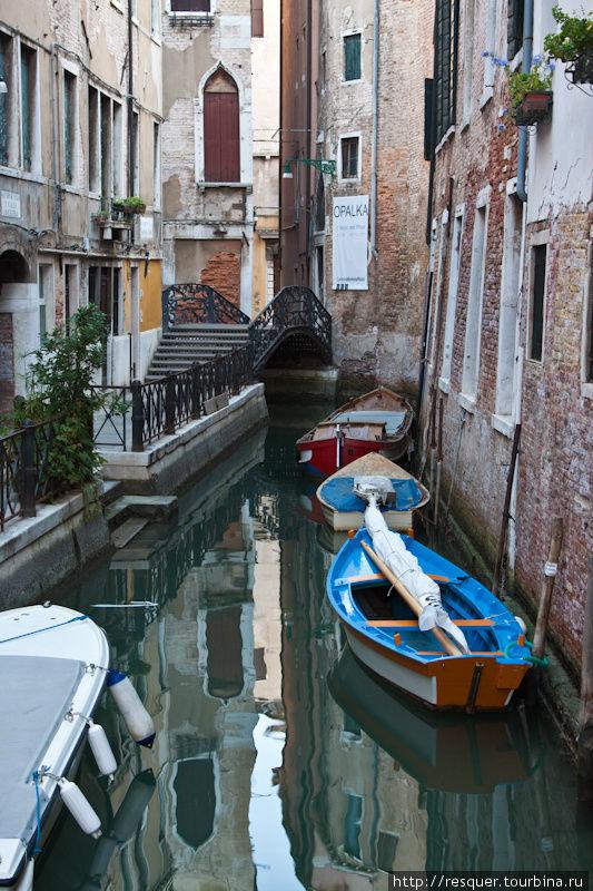Каналы Венеции, р-н Санто