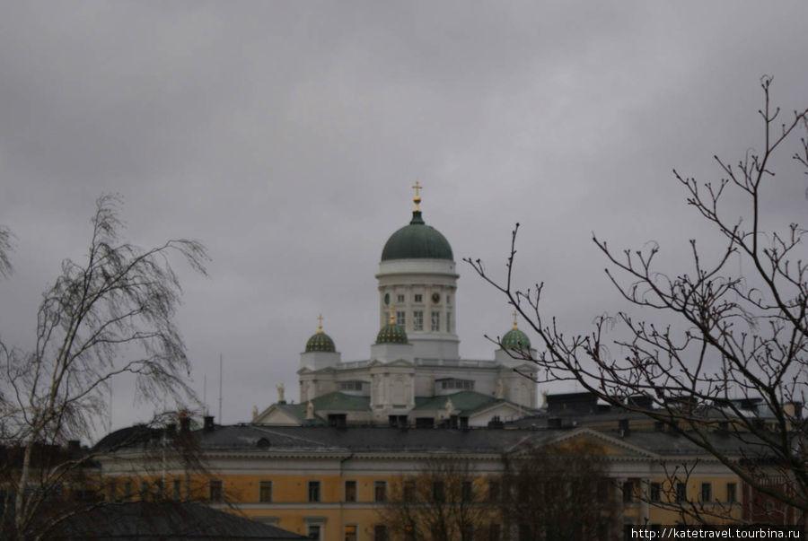 Купола Лютеранского кафедрального собора