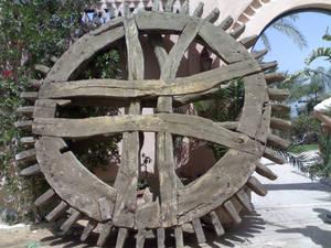 ирригационное колесо на пенсии