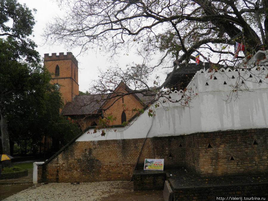 Англосакский храм.