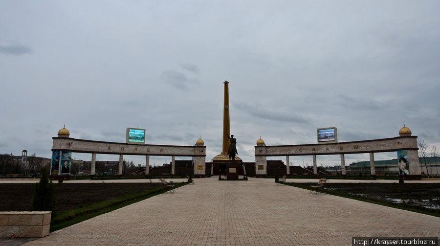 Чечня. Мемориальный комплекс Славы. Фоторепортаж