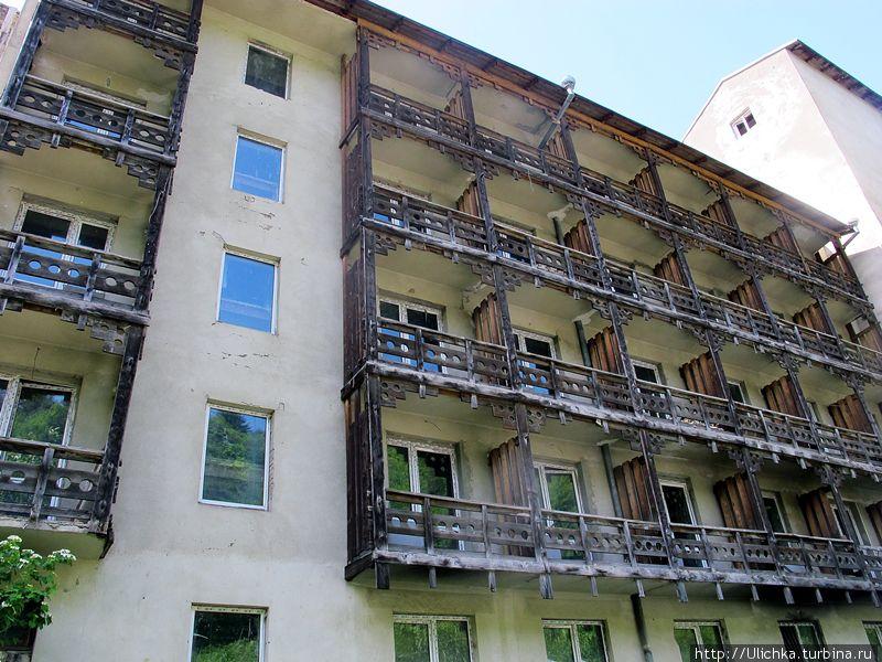 Интерес к красотам Рачи растет, восстанавливается эта гостиница советских времен.