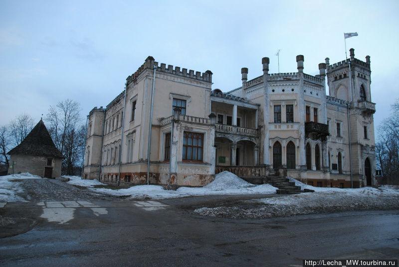 Новый замок в Алуксне