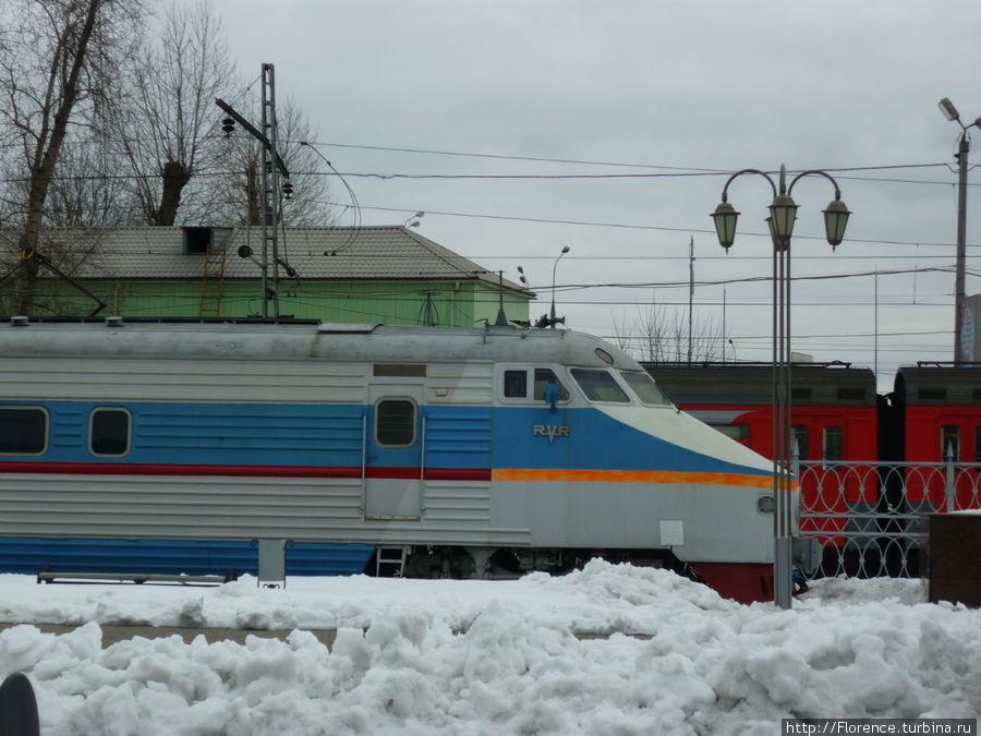 ЭР-200. Ходил в Петербург ненамного медленнее